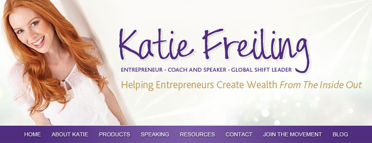 Katie Freiling Website Redesign