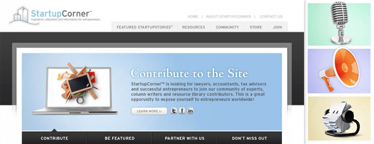 StartupCorner Branding