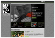 PIC Short Films Website Design